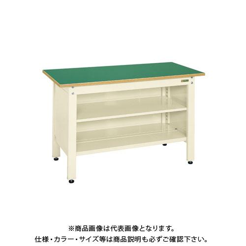 【直送品】サカエ 一人用作業台・軽量固定式 CP-126TI