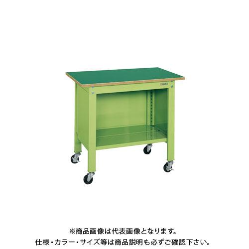 【直送品】サカエ 一人用作業台・軽量移動式 CPB-126