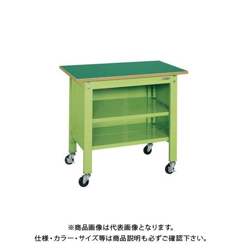 【直送品】サカエ 一人用作業台・軽量移動式 CPB-126T