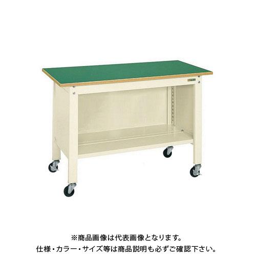 【直送品】サカエ一人用作業台・軽量移動式CPB-126I