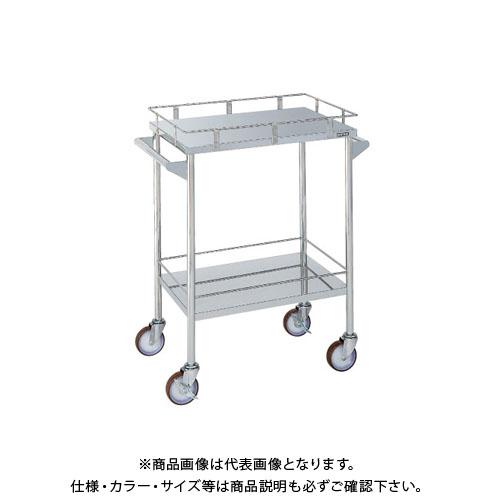 【直送品】サカエ ステンレス CSワゴン CSM-4ASU