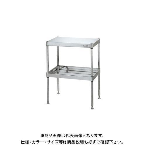 【直送品】サカエ ステンレスニューCSパールワゴン(固定タイプ) CSPA-6082NSU4
