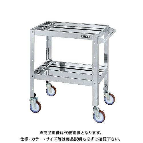 【直送品】サカエ ステンレスニューCSスペシャルワゴン CSSA-607SU4