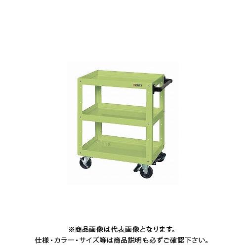 【直送品】サカエ ニューCSスーパーワゴン フットブレーキ付 CSWA-607BR