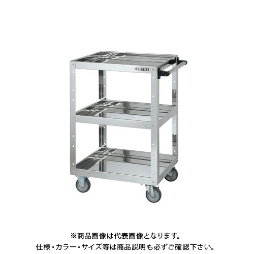 【直送品】サカエ ステンレスニューCSスーパーワゴン CSWA-607SU4E