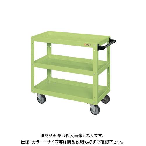 【直送品】サカエ ニューCSスーパーワゴン(エラストマー車仕様) CSWA-758EJ