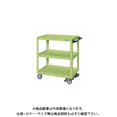 【直送品】サカエ ニューCSスーパーワゴン フットブレーキ付 CSWA-758BR