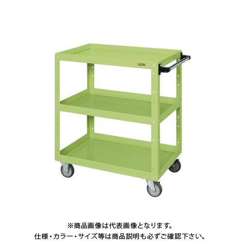 【直送品】サカエ ニューCSスーパーワゴン(エラストマー車仕様) CSWA-758E