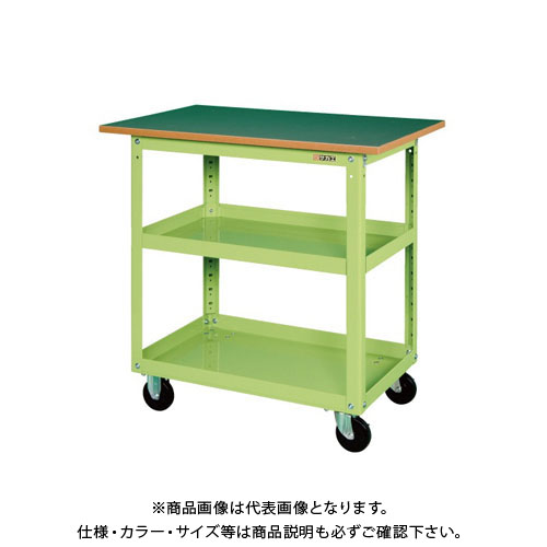 【直送品】サカエ スーパーワゴン天板付 EKR-200TJ