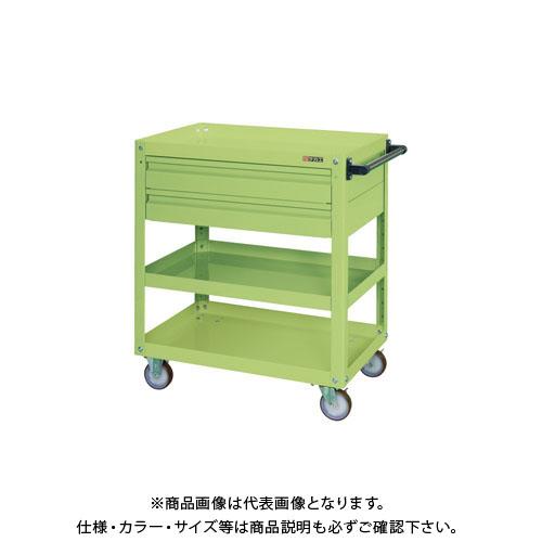 【直送品】サカエ スーパーワゴン引出付 EKR-2C