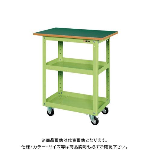 【直送品】サカエ スーパーワゴン天板付 EMR-150TJ