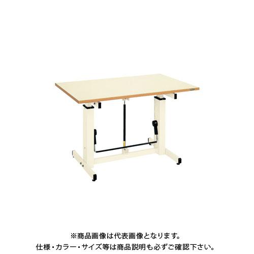 【直送品】サカエ ガスバネ式昇降作業台 GUD-096
