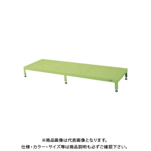 【直送品】サカエ 足踏台(すべり止め加工) JA-1275N