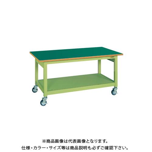 【直送品】サカエ 中量作業台KBタイプ移動式 KBF-127