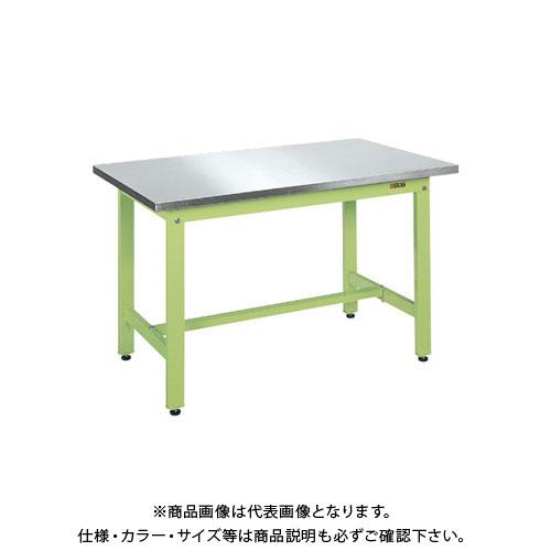 【直送品】サカエ 軽量作業台KKタイプ・ステンレス天板仕様 KK-189SU4N