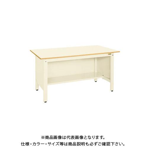 【直送品】サカエ 軽量作業台KKタイプ三方パネル付 KK-39PPI