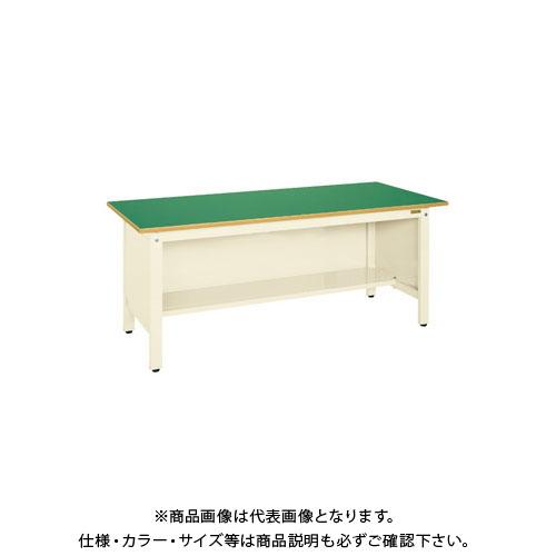【直送品】サカエ 軽量作業台KKタイプ三方パネル付 KK-69FPI