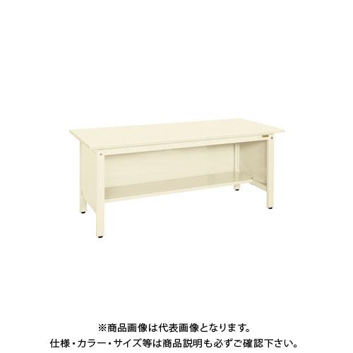 【直送品】サカエ 軽量作業台KKタイプ三方パネル付 KK-69SPI