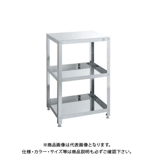 【直送品】サカエ ステンレス スーパーワゴン 固定タイプ KMN-150SU