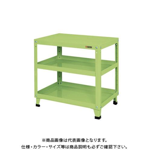 【直送品】サカエ スーパーワゴン 固定タイプ KN-207