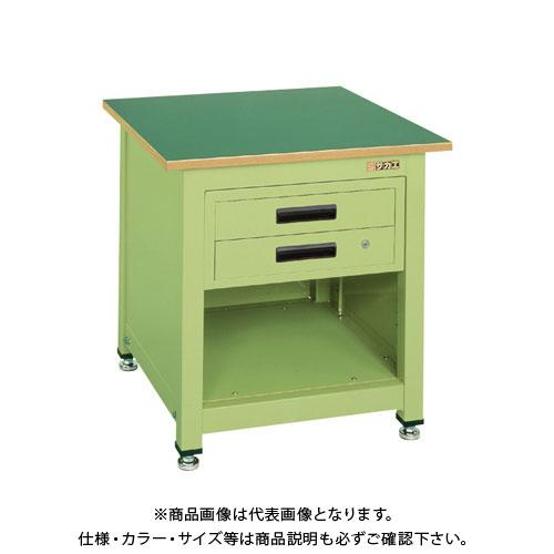 【直送品】サカエ 一人用作業台・中量固定式 KT-112N