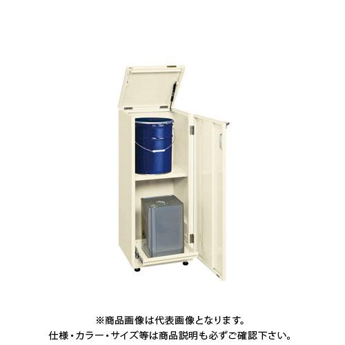 【直送品】サカエ 一斗缶保管庫(一斗缶・ペール缶兼用)スチールタイプ KU-ITKNE