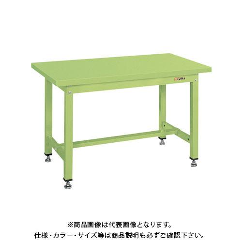 【直送品】サカエ 中量作業台KVタイプ(スチールカブセ天板) KV-593PC