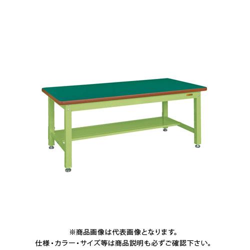 【直送品】サカエ 重量作業台KWタイプ中板1枚付 KWF-158T