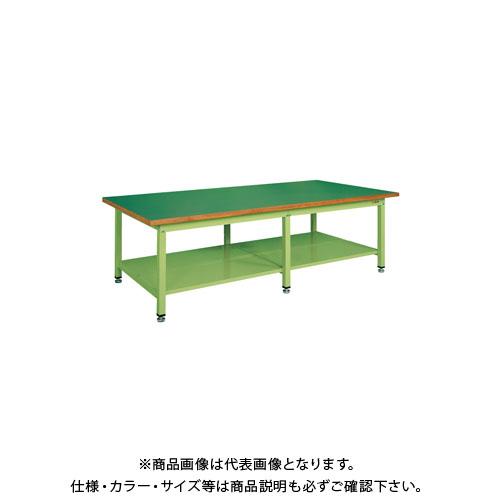 【直送品】サカエ 大型作業台・重量KWタイプ KWF-2412T