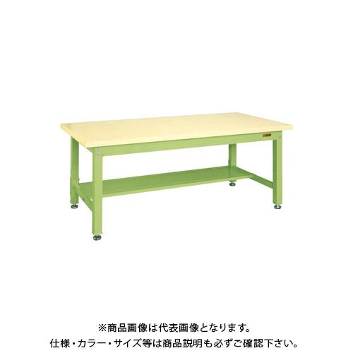 【直送品】サカエ 重量作業台KWタイプ中板1枚付 KWG-158T