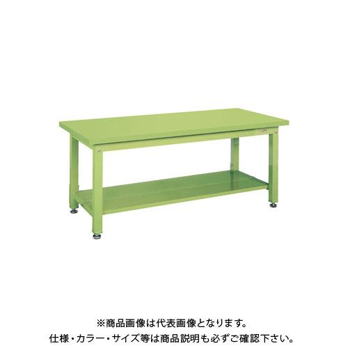 【直送品】サカエ 重量作業台KWタイプ中板2枚付 KWS-158T1