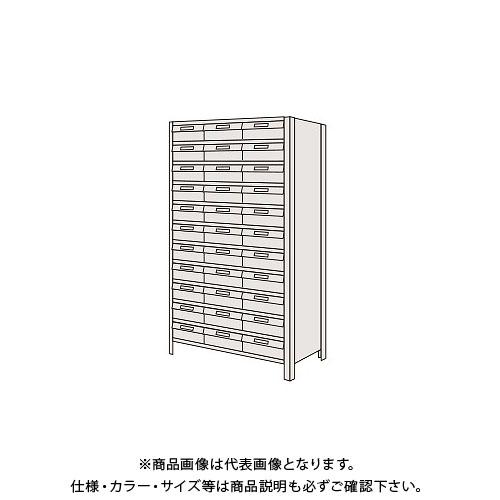 【運賃見積り】【直送品】サカエ 物品棚LEK型樹脂ボックス LWEK1122-33T