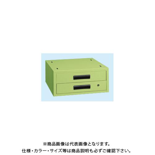 【直送品】サカエ 作業台用オプションキャビネット NKL-22C