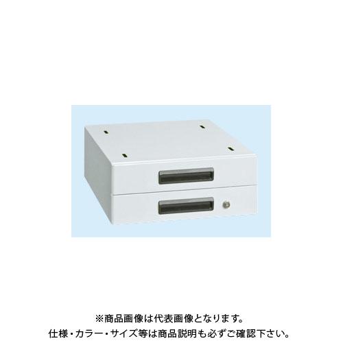 【直送品】サカエ 作業台用オプションキャビネット NKL-S20GLC