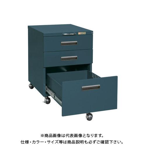 【直送品】サカエ キャビネットワゴン NW-3CBD