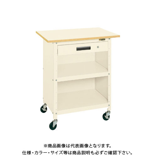 【直送品】サカエ 一人用作業台・軽量移動式 PHR-075APPEI