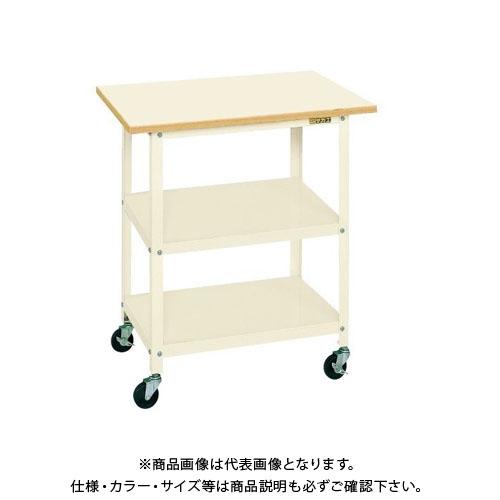 【直送品】サカエ 一人用作業台・軽量移動式 PHR-075PEI