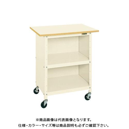 【直送品】サカエ 一人用作業台・軽量移動式 PHR-075PPEI