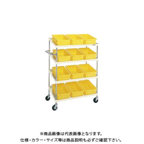 【直送品】サカエ ボックスワゴン PIR-04CTI