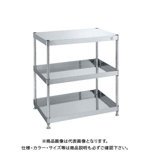 【直送品】サカエ ステンレスニューパールワゴン PKN4-03SUA