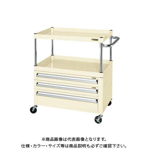 【直送品】サカエ ニューパールワゴン引出し付 PKR-4RCN