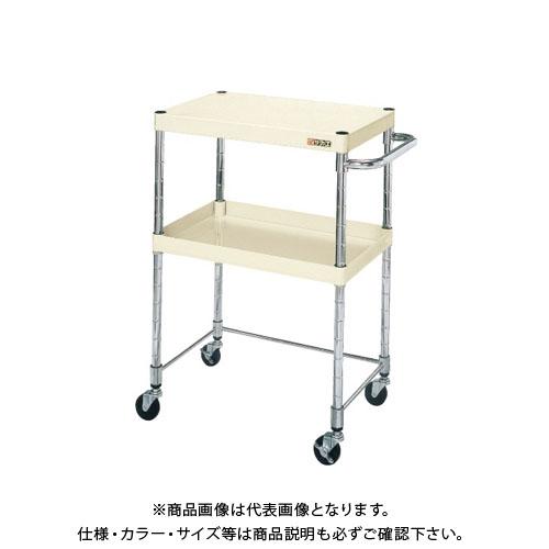 【直送品】サカエ ニューパールワゴン・コボレ止メ付 PMR-103DKI