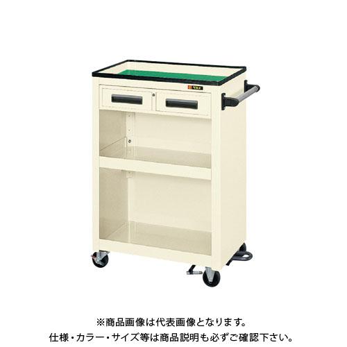 【直送品】サカエ パネルワゴン(フットブレーキ付) PMW-5CBRI