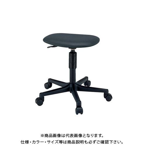 【直送品】サカエ ワークチェアー S1C-BKN
