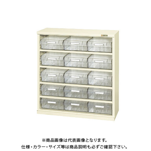 【直送品】サカエ コンテナラックケース(パーツボックス付) SCR-9KI