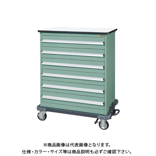 【直送品】サカエ キャビネットワゴンSKVタイプ SKV8-R1062NG