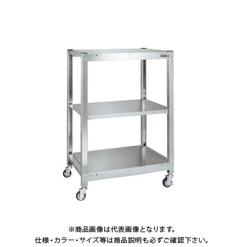 【直送品】サカエ ステンレスラック(移動式) SLN-1233RSU4