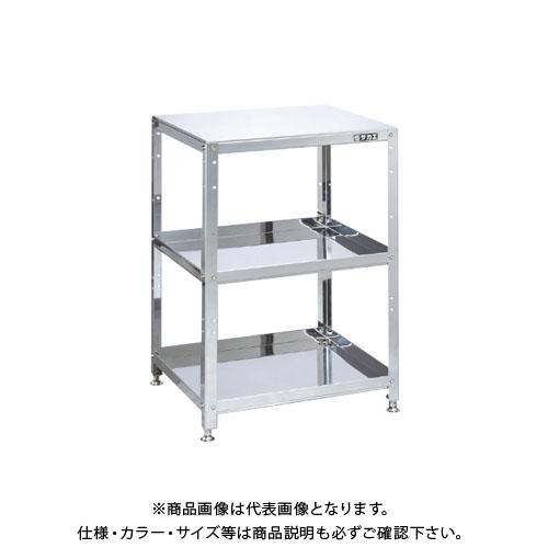 【直送品】サカエ ステンレススペシャルワゴン(固定式) SMN-03SU