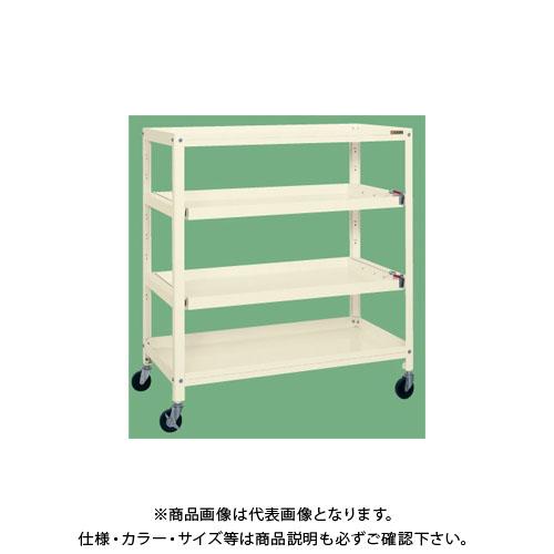 【直送品】サカエ スーパーラックスライド棚仕様 移動式 SPR-1122TRI