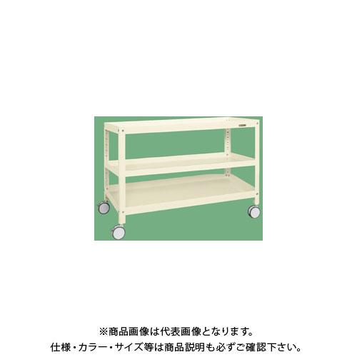 【直送品】サカエ スーパーラックワゴン(双輪キャスター仕様) SPR-1123RDI